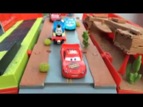 Probably the Biggest Disney Cars Mack Hauler, McQueen,  Thomas and Friends Trains