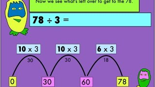 The Number Crunchers explain one form of division by chunking.