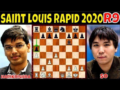 Ang tunay na LEADER sa Rapid, lumalaban hangang dulo! || GM Harikrishna vs. GM So || # 516