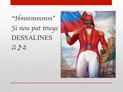 FANTOM ft SOLIS -Si Dessalines te la (LYRICS)