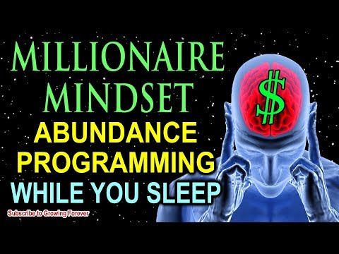 Sleep Programming For Prosperity ~ Millionaire Mindset Affirmations ~ Attract Wealth & Abundance