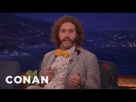 T.J. Miller Can't Stop Bleeding  - CONAN on TBS (видео)