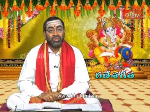 Ganesh Chaturthi Special - Ganesh Geeta Program Episode 1_Part 1