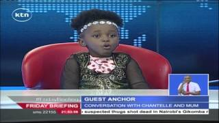 Four Year Old Girl Names All 47 Kenyan Governors On Friday Briefing