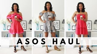 The sun is finally shining in London and so in this video I share with you a few summers dresses I picked up from a recent ASOS...