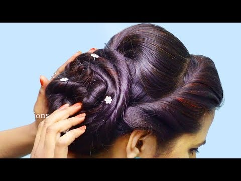 Easy & Quick party Hairstyles 2019 for girls  Best Hairstyles for long hair  hair style girl
