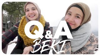 Video Q&A ZASKIA BELLA SAMBIL DIGUYUR SALJU brrrr MP3, 3GP, MP4, WEBM, AVI, FLV Desember 2018
