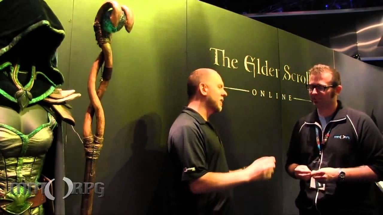 Elder Scrolls Online: видео - Е3: Интервью с Брайаном Вилером (RUS)
