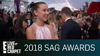Millie Bobby Brown Tells How She Stays Grounded | E! Red Carpet & Award Shows