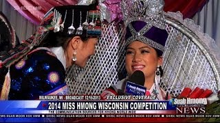 Suab Hmong News:  Question Answering and Resulted of 2014 Miss Hmong Wisconsin Competition