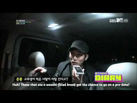 HD (ENG SUBS) 121211 BTOB B+DIARY EP 2 (1/4) (видео)