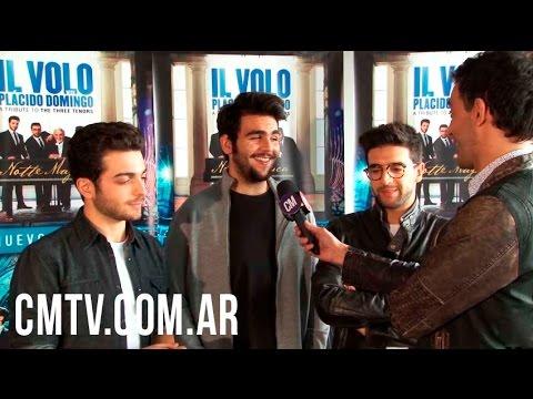 Il Volo video Tributo a Los Tres Tenores - Entrevista Argentina 2016