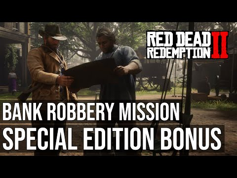 Exclusive Bank Robbery Mission - Red Dead Redemption 2 Special Edition