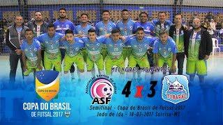 Tubarão CFZ 3X4 Sorriso-MT Semifinal - jogo de Ida - Copa do Brasil de Futsal Melhores Momentos.