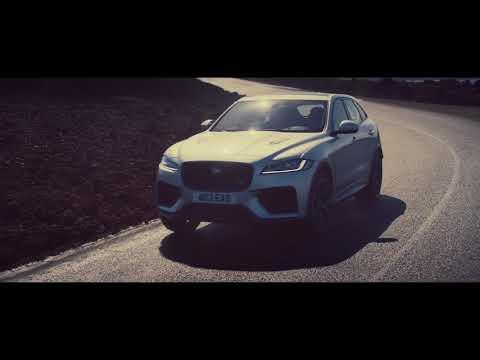 Jaguar F-PACE SVR | Puissance, performance et fonctionalités
