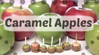 Caramel Apple Charm - How To - Polymer Clay Miniature - YouTube