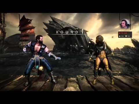 ll its not coolj (Jax/Sub/Liu Kang) vs HoneyBee (Swarm Queen D'Vorah) (видео)