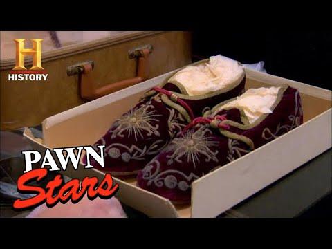 Pawn Stars: HOLY SLIPPERS Leave Rick SPEECHLESS (Season 7) | History