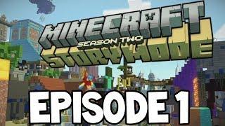 "Minecraft Story Mode: SEASON 2 - EPISODE 1 - NEW STORY GAMEPLAY! ""Hero in Residence"""