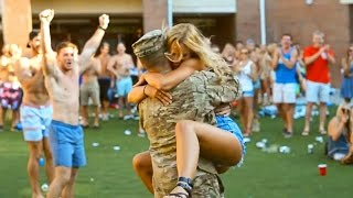 Soldiers Coming Home To Girlfriends Compilation Video
