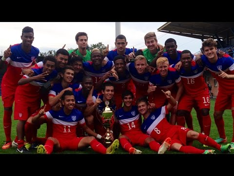 18 - The U.S. Under-18 Men's National Team, led by tournament MVP Mukwelle Akale's 47th-minute goal, defeated Ukraine 1-0 in the championship match of the 21st International Tournament of Vaclav...
