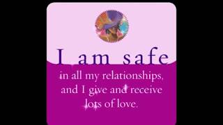 Weekly Affirmation I AM SAFE... by Louise L Hay