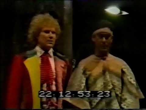 Doctor Who - Mindwarp - Studio Recording with Sweary Brian Blessed