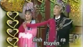"""Karaoke hồ quảng - điệu Tằm Tơ Vương - Vũ Linh, Tài Linh """"Chốn công án..."""""""