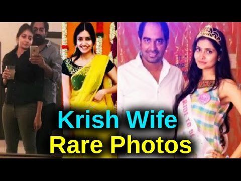 GPSK Director Krish with Wife Ramya Unseen Personal Video | Celebrity Private Photos