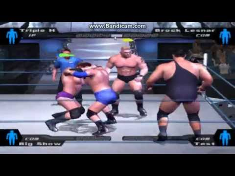 Smackdown Pain in pc gameplay (Triple H)