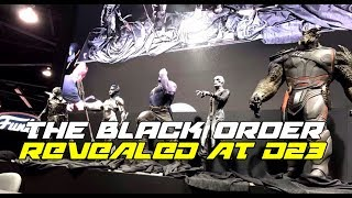 This is my thoughts on the black order statues that were shown at Disney's d23 2017 these are essentially the children of Thanos and will Aid him in his fight against the Avengers let me know what you guys think about the video and make sure you like it and subscribe to keep up with all the videos we put out everyday here on NERDSMERIZED.