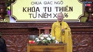 TRỰC TIẾP: Cốt Lỗi Thiền Tập Của Đức Phật - TT. Thích Nhật Từ