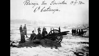 """Kartais atrodo , kad lietuviai per paskutinius 100 metų tik pralaimėdavo ir nuolatos kentėdavo įvairių agresorių patyčias. Tačiau istorija yra kiek kitokia. Kritiškiausiu valstybei momentu lietuviai sugebėjo jėga pasipriešinti agresoriui . Įdomu , kad šioji pergalė yra piktybiškai nutylima . Apie Griedraičių mūšį , o butent šis mūšis ir yra šioji pergalė, """"Iš savo varpinės"""" formatu diplomatijos ekspertas Algis Avižienis  kalbina Gen. Jono Žemaičio Karo akademijos profesorių , karo įstoriką Valdą Rakutį -----------------------------I- dalis ( bus daugiau)"""