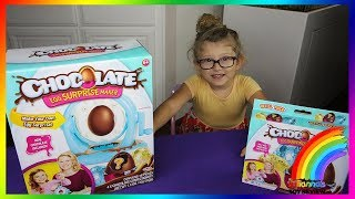 Chocolate Egg Surprise Maker, Totally Awesome!
