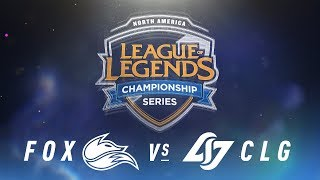 Video FOX vs. CLG - Week 8 Day 2 | NA LCS Spring Split | Echo Fox vs. Counter Logic Gaming(2018) MP3, 3GP, MP4, WEBM, AVI, FLV Juni 2018