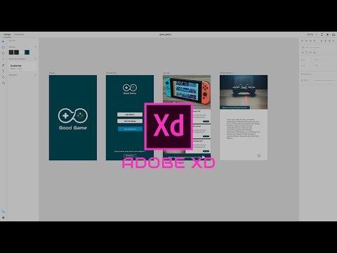 TUTO Adobe XD : Comment créer des maquettes web