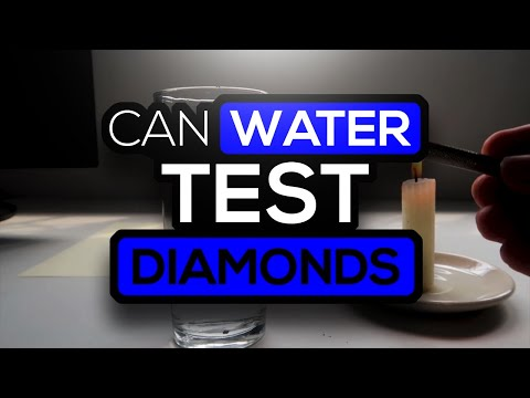 How To Test A Diamond With Water
