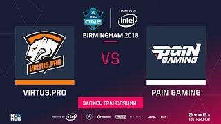 Virtus.pro vs paiN, ESL One Birmingham, game 1 [Jam, Lex]