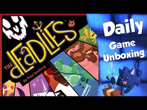 The Deadlies - Daily Game Unboxing