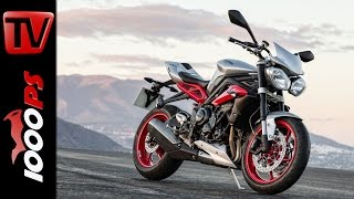 9. Triumph Street Triple RX | Specs, details and close-ups