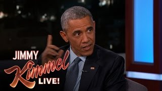Video Jimmy Kimmel Asks President Barack Obama About His Daily Life MP3, 3GP, MP4, WEBM, AVI, FLV Oktober 2018