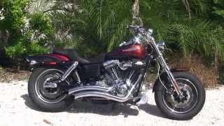 9. 2009 Harley Davidson CVO Fat Bob - Used Motorcycles for sale