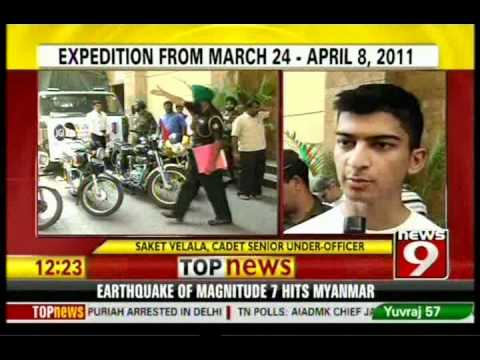 Motor cycle expedition