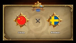 CHN vs SWE, game 1