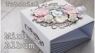 EXPAND FOR MORE INFO *--------- ♥*♥*♥** Easy to follow altered mini album Dusty Attic chipboards Website: http://www.dustyattic.com.au/ To buy rhinestones ...