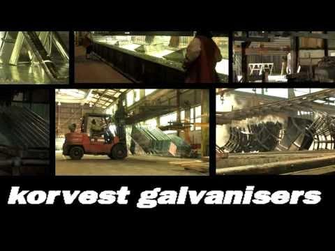 Hot Dip and Centrifuge Galvanising - Korvest Galvanisers