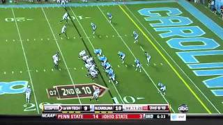 Donte Paige Moss vs Virginia Tech