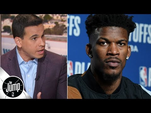 Video: Jimmy Butler, Miami Heat are the best bet to hit the over for games won - George Sedano | The Jump