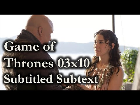"Game of Thrones: ""What do you want from me?"" – Scene Subtext for Actors & Screenwriters"