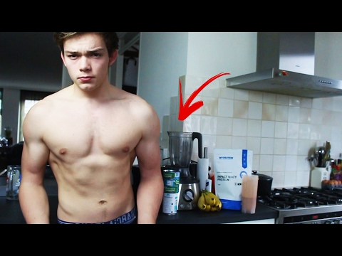 Body Transformation - FULL DAY OF EATING / What To Eat? (Calisthenics & Fitness) MUSCLE BUILDING